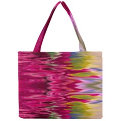 Abstract Pink Colorful Water Background Mini Tote Bag by Amaryn4rt