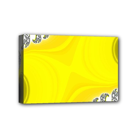 Fractal Abstract Background Mini Canvas 6  X 4  by Amaryn4rt