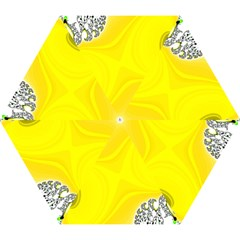 Fractal Abstract Background Mini Folding Umbrellas by Amaryn4rt