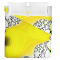 Fractal Abstract Background Duvet Cover Double Side (queen Size) by Amaryn4rt