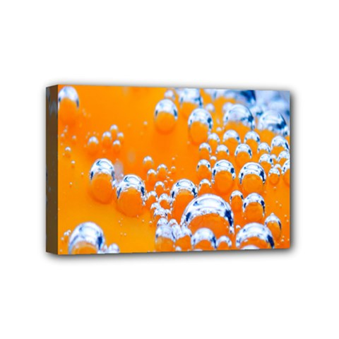 Bubbles Background Mini Canvas 6  X 4  by Amaryn4rt