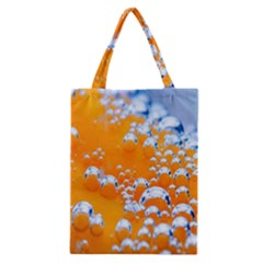 Bubbles Background Classic Tote Bag by Amaryn4rt