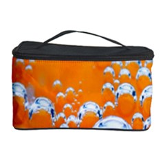 Bubbles Background Cosmetic Storage Case by Amaryn4rt