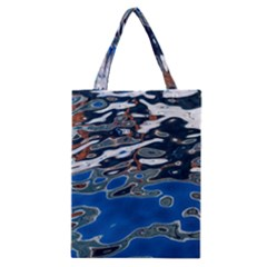 Colorful Reflections In Water Classic Tote Bag by Amaryn4rt