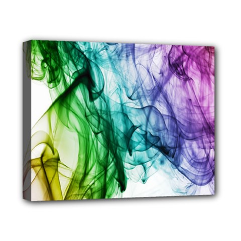 Colour Smoke Rainbow Color Design Canvas 10  X 8  by Amaryn4rt