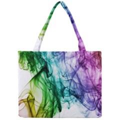 Colour Smoke Rainbow Color Design Mini Tote Bag
