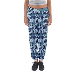 Navy Camouflage Women s Jogger Sweatpants by sifis