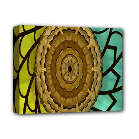 Kaleidoscope Dream Illusion Deluxe Canvas 14  X 11  by Amaryn4rt