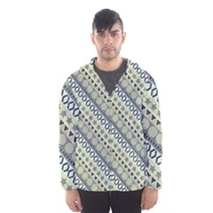 Abstract Seamless Pattern Hooded Wind Breaker (men) by Amaryn4rt