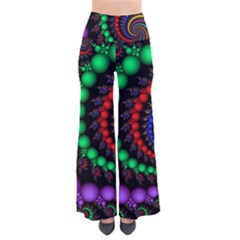 Fractal Background With High Quality Spiral Of Balls On Black Pants by Amaryn4rt