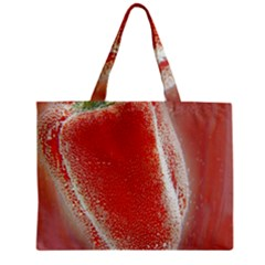 Red Pepper And Bubbles Mini Tote Bag by Amaryn4rt