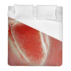 Red Pepper And Bubbles Duvet Cover (full/ Double Size) by Amaryn4rt