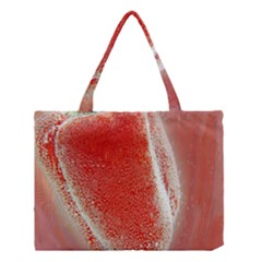 Red Pepper And Bubbles Medium Tote Bag by Amaryn4rt