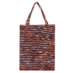 Roof Tiles On A Country House Classic Tote Bag by Amaryn4rt