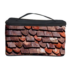 Roof Tiles On A Country House Cosmetic Storage Case by Amaryn4rt