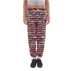 Roof Tiles On A Country House Women s Jogger Sweatpants by Amaryn4rt