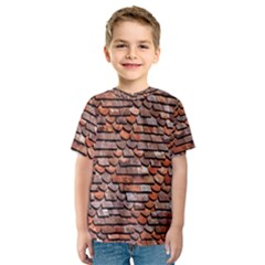 Roof Tiles On A Country House Kids  Sport Mesh Tee by Amaryn4rt