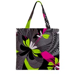 Nameless Fantasy Zipper Grocery Tote Bag by Amaryn4rt