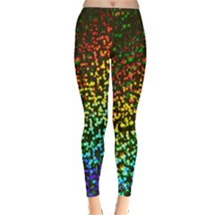 Construction Paper Iridescent Leggings  by Amaryn4rt