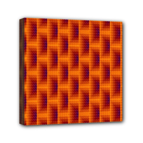 Fractal Multicolored Background Mini Canvas 6  X 6  by Amaryn4rt