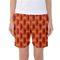 Fractal Multicolored Background Women s Basketball Shorts by Amaryn4rt