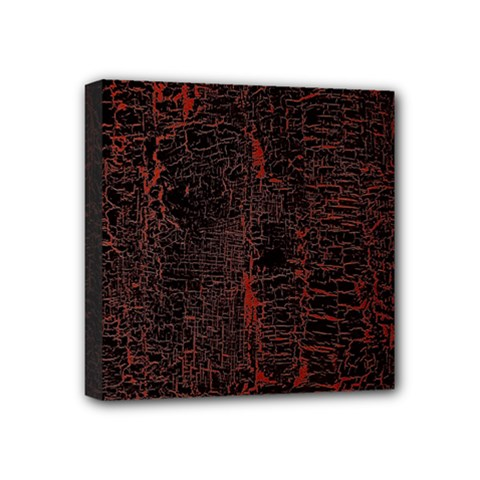 Black And Red Background Mini Canvas 4  X 4  by Amaryn4rt