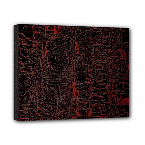 Black And Red Background Canvas 10  X 8  by Amaryn4rt