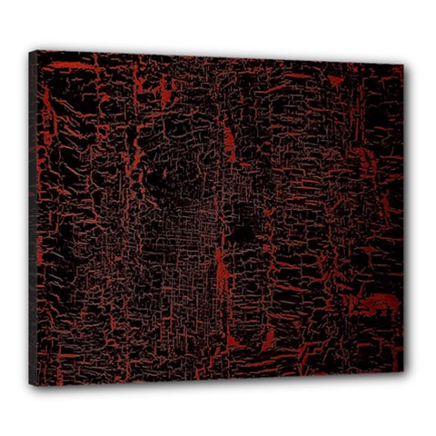 Black And Red Background Canvas 24  X 20  by Amaryn4rt
