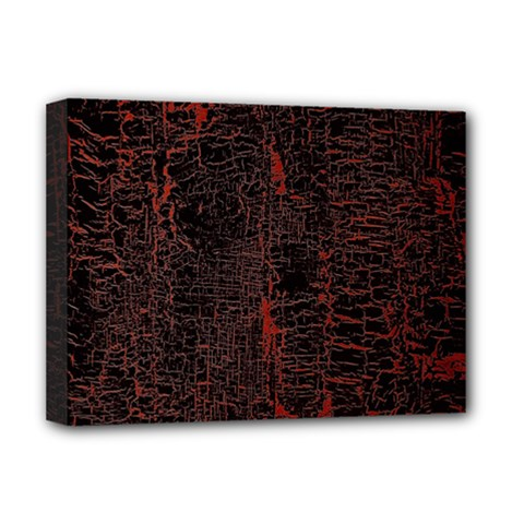 Black And Red Background Deluxe Canvas 16  X 12   by Amaryn4rt
