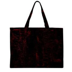 Black And Red Background Zipper Mini Tote Bag by Amaryn4rt