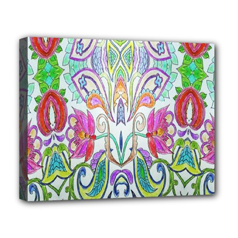 Wallpaper Created From Coloring Book Deluxe Canvas 20  X 16   by Amaryn4rt