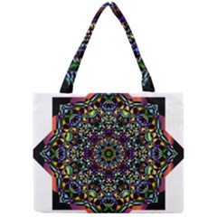 Mandala Abstract Geometric Art Mini Tote Bag by Amaryn4rt