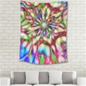Magic Fractal Flower Multicolored Medium Tapestry View2