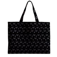 Floral Pattern Zipper Mini Tote Bag by Valentinaart