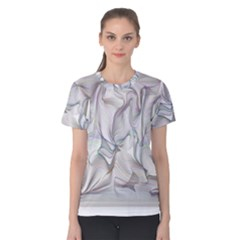 Abstract Background Chromatic Women s Cotton Tee