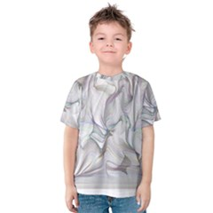 Abstract Background Chromatic Kids  Cotton Tee