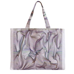 Abstract Background Chromatic Zipper Mini Tote Bag