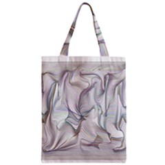 Abstract Background Chromatic Zipper Classic Tote Bag by Amaryn4rt