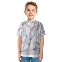 Abstract Background Chromatic Kids  Sport Mesh Tee