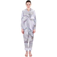 Abstract Background Chromatic Hooded Jumpsuit (ladies)