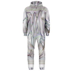 Abstract Background Chromatic Hooded Jumpsuit (men)