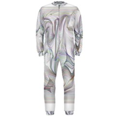 Abstract Background Chromatic Onepiece Jumpsuit (men)
