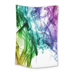 Colour Smoke Rainbow Color Design Small Tapestry