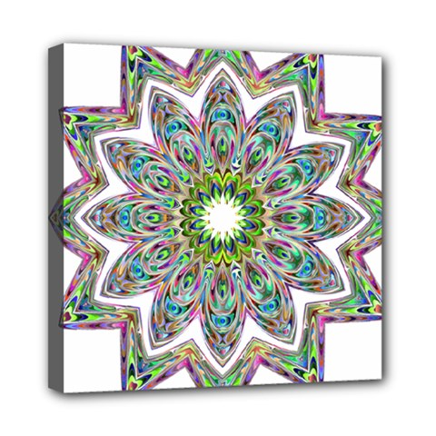 Decorative Ornamental Design Mini Canvas 8  X 8