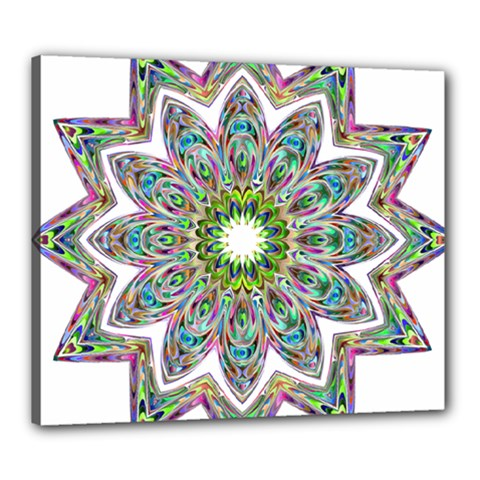 Decorative Ornamental Design Canvas 24  X 20  by Amaryn4rt