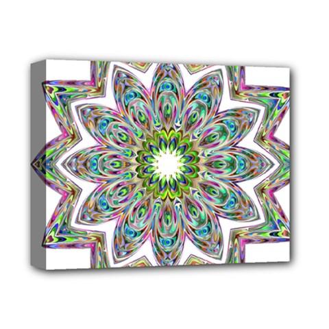 Decorative Ornamental Design Deluxe Canvas 14  X 11