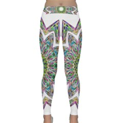Decorative Ornamental Design Classic Yoga Leggings