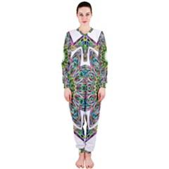 Decorative Ornamental Design Onepiece Jumpsuit (ladies)