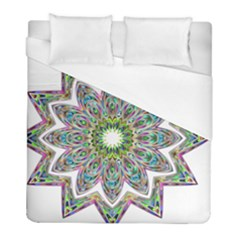 Decorative Ornamental Design Duvet Cover (full/ Double Size) by Amaryn4rt