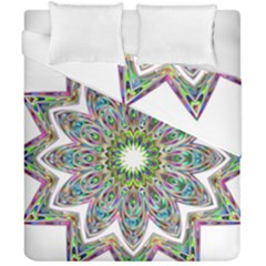 Decorative Ornamental Design Duvet Cover Double Side (california King Size)